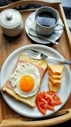 Breakfast Snacks, Healthy Breakfast Recipes, Healthy Snacks, Healthy Recipes, Good Morning Breakfast, Cafe Food, Aesthetic Food, Food Cravings, Food Inspiration
