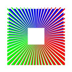 Radial - Dennis Smit, 2015. Computer Op Art