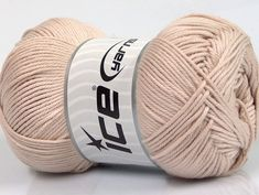 Baby cotton is a 100% premium giza cotton yarn exclusively made as a baby yarn. It is anti-bacterial and machine washable! Fiber Content 100% Giza Cotton Brand Ice Yarns Beige fnt2-53076