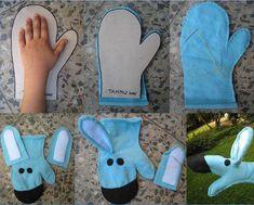 Felt Toy Hand Puppet Making - Diy For Kids, Crafts For Kids, Puppets For Kids, Puppet Patterns, Puppet Making, Baby Sensory, Finger Puppets, Foam Crafts, Felt Fabric