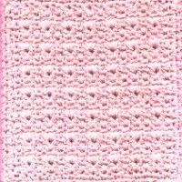 Textured V Stitch Dishcloth