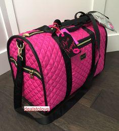 Betsey Johnson Floral Graffiti Hard Cover Luggage Set