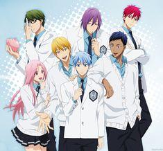 Kuroko no basuke Kuroko No Basket, Anime Nerd, Anime Guys, Manga Anime, Kagami Kuroko, Akashi Seijuro, Desenhos Love, Kiseki No Sedai, Akakuro