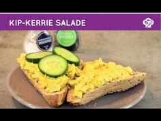 Video recept kip kerrie salade