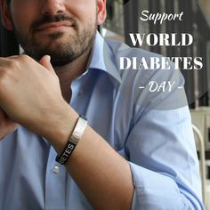 November 14 is World Diabetes Day. How are you raising awareness of diabetes? Medical IDs can alert people that diabetes is a serious medical condition. It is something that amazing, strong, and brave individuals have to manage everyday.  #worlddiabetesday #diabetes #type1diabetes #t1d #t2d #diabetic #typeonestrong #insulin #insulinpump #chronicdisease #disease #americanmedicalid #medicalid #medicalalert #medicalidbracelet