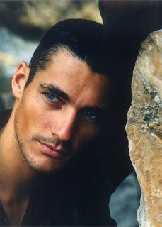 My Dads family is English and my Mums is Scottish, but theres got to be a link to Spain or somewhere like that further down the line. Gandy inherited his looks from his great-grandfather, but credits Richard and Judy with launching his modelling career.