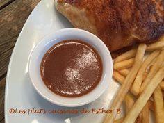 Les plats cuisinés de Esther B: Sauce BBQ maison (barbecue) type St-Hubert