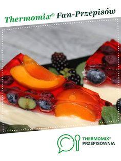Sernik na zimno z owocami jest to przepis stworzony przez użytkownika Alicja K. Ten przepis na Thermomix<sup>®</sup> znajdziesz w kategorii Desery na www.przepisownia.pl, społeczności Thermomix<sup>®</sup>. Eggs, Breakfast, Ethnic Recipes, Food, Thermomix, Morning Coffee, Essen, Egg, Meals