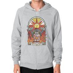 Church of the Sun Zip Hoodie (on man)
