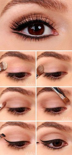 awesome makeup idea for brown eyes
