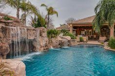 Natural Swimming Pools, Swimming Pools Backyard, Swimming Pool Designs, Pool Landscaping, Lap Pools, Natural Pools, Indoor Pools, Pool Decks, Backyard Water Parks
