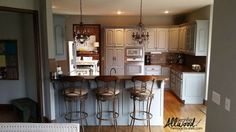 Our Kitchen Cabinet Transformation: From Gold -----> Gray!