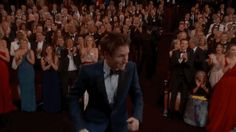 Pin for Later: 25 Oscars Moments Everyone's Still Talking About Even Eddie Redmayne Was Blindsided by His Win