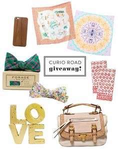 We're giving away three gift certificates to Curio Road! http://blog.matchbookmag.com/arts-crafts/curio-road-giveaway/#