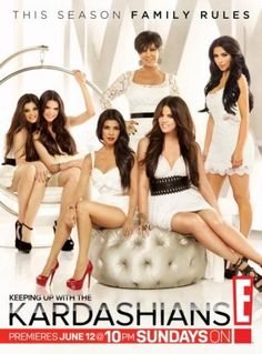 Keeping Up With The Kardashians... a guilty pleasure of mine!
