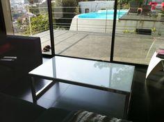 Table basse inox