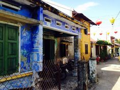 Vietnam in 4 weeks - Colourful houses in Hoi An, Vietnam