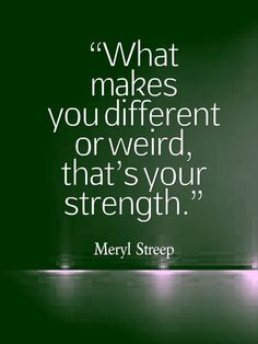 Well said, Mery Streep. Motivational positive quotes to get you through the hard times. Tap to see more inspirational quotes. - @mobile9