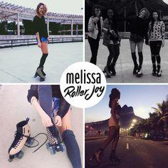 Vem aí… o patins Melissa: Roller Joy!