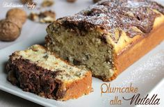 Un golosissimo Plumcake alla Nutella per la merenda