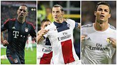 Ribery - Zlatan - Ronaldo