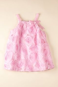 Bubbaloo Dress - makes me wish my baby girl was still little enough to wear this! So sweet!
