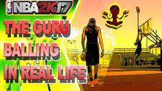 """6'6"""" 2K GURU BALLING IRL (JUMPSHOT & DUNKING) - BRUTAL BALLING IN REAL LIFE"""