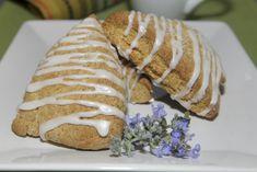 Lemon Lavender Scones from A Passionate Plate with Tillamook Light Yogurt