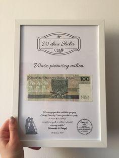 Zobacz zdjęcie prezent na ślub w pełnej rozdzielczości Diy, Frame, Picture Frame, Bricolage, Do It Yourself, Frames, Homemade, Diys, Crafting