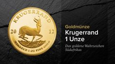 Die Krügerrand Goldmünze - Nahaufnahmen, Geschichte, Hintergründe