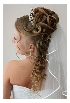 The spring wedding hairstyles for long hair with veil and tiara 2014 will provide you a classic princess and royal look that will make your wedding more rememorable. Description from beautytipsmart.com. I searched for this on bing.com/images