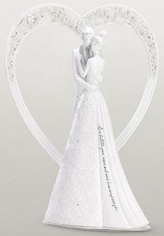 Gina Freehill Heart Cake Topper  Language of Love **NIB** #GinaFreehill