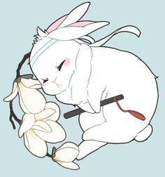 Read Nuestro Conejito Blanco from the story Galeria de conejos MDZS by (Jiang Cheng) with reads. Kawaii Chibi, Cute Chibi, Kawaii Art, Kawaii Anime, Bunny Drawing, Bunny Art, Cute Bunny, Cute Animal Drawings, Kawaii Drawings