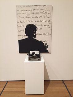 """Le Corbeau et le Renard"" by Marcel Broodthaers, 1968. MoMA retrospective, Feb. 2016"