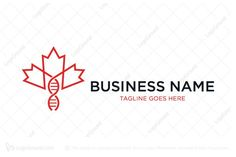 Logo for sale: Maple Leaf Dna Helix Logo Canada maple leaf and DNA helix combination. Suitable for medical related company. laboratory canadian genetic genomic bioscience biology biological gene lab research biotech biotechnology biomedical biomedicine pharmacy pharmaceutical logo logos association