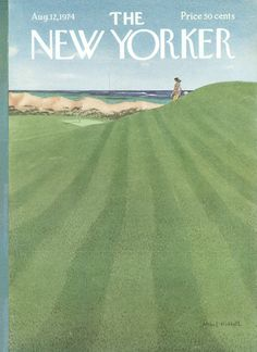 The New Yorker - Monday, August 12, 1974 - Issue # 2582 - Vol. 50 - N° 25 - Cover by : Albert Hubbell