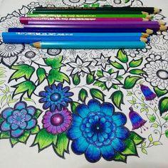 Instagram media  pintado por @jessicasantin desenhoscolorir - Minha mandala em construção  Livro Jardim Secreto. Lápis faber castell comum. Siga -me @jessicacremer  #desenhoscolorir  #jardimsecreto  #secretgarden #johannabasford #colorindolivrostop #boracolorirtop #titkoskert