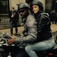 """32.3k Likes, 174 Comments - Krysten Ritter (@therealkrystenritter) on Instagram: """"Little flashback behind the scenes from season one with my irl bff Mike Colter"""""""
