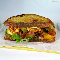 Farmers Market BLT by Mario Batali! #TheChew #Sandwich