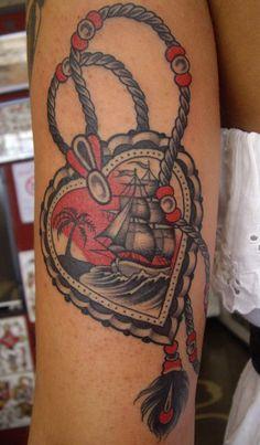 Amazing ship in heart