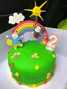 Narancsos, mascarponés torta Happy Birthday, Birthday Cake, Fondant, Ale, Party, Food, Decorating Cakes, 3 Years, Daughter