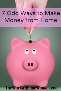 Odd Ways to Make Money From Home If you're looking to make some extra cash from home here are 7 ways you can get started.If you're looking to make some extra cash from home here are 7 ways you can get started. Cash From Home, Work From Home Jobs, Make Money From Home, Way To Make Money, Make Money Online, How To Make, Online Earning, Saving Ideas, Money Saving Tips