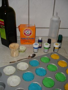 No Bath bombs, but homemade shower bombs (or vicks sauna tabs)