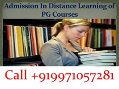 For all those who want to give a boost to their academic career but are not in a position to spare out much time going in for PG Distance courses in India would be a great option. The colleges in the country are offering hundreds of PG distance education courses.