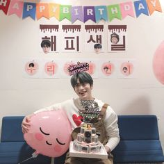 """"""" Thank you for the early happy birthday from the Inkigayo Fam and Naeun and Minhyuk! Johnny hyung Happy Birthday to you too """" """" Translation: Alex. Jaehyun Nct, Happy Birthday To Us, 2nd Birthday, Taeyong, Nct 127, Fandom, Valentines For Boys, Jung Jaehyun, Nct Dream"""
