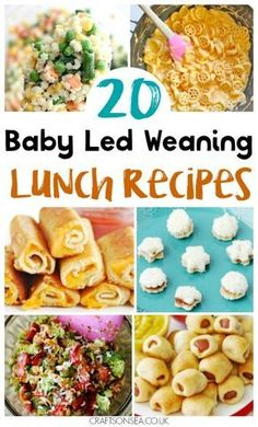 These baby led weaning lunch ideas are tried and tested and perfect for the whole family. Get inspired with some new easy recipes you'll all love! #blw