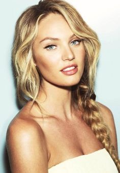 Candice Swanepoel hair and makeup - This fashion