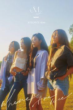 Twitter Fandom, South Korean Girls, Korean Girl Groups, Where Are We Now, Mamamoo Kpop, Album Sales, E Dawn, Album Releases, Fan Art