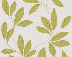AS Creation Amory behang Beige, Deco, Wallpaper, Floral, Green, Amor, Flowers, Wallpapers, Decor