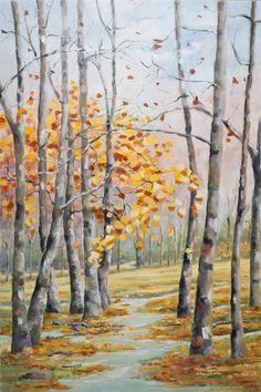 Depois da Chuva___ óleo s/ tela 90x60cm  www.arteborgmann.blogspot.com